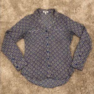 "Express ""The Portofino Shirt"" Tile/Graphic Print"